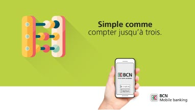 Campagne BCN mobile banking